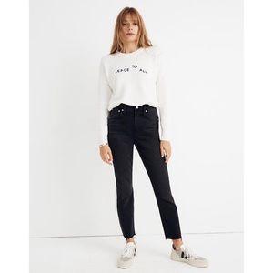 Madewell Jeans - Madewell High Rise Slim Boyjean Lunar Black 29